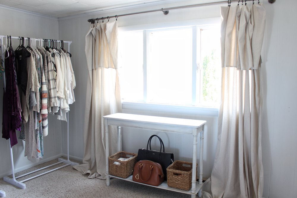 after of closet and window