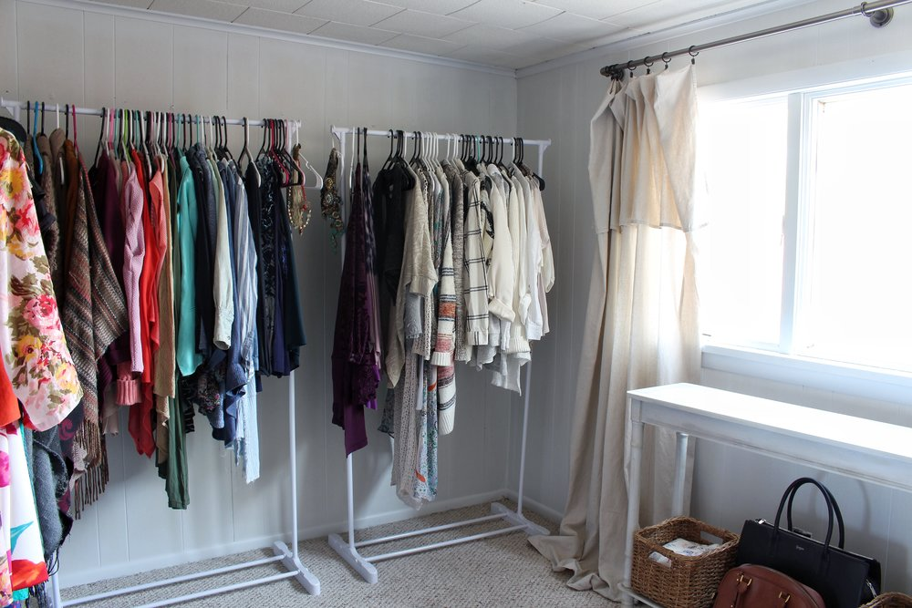 clothes and window