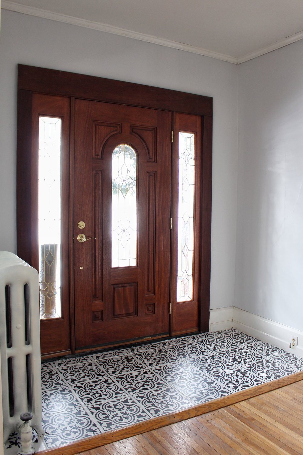 Entry way tiles