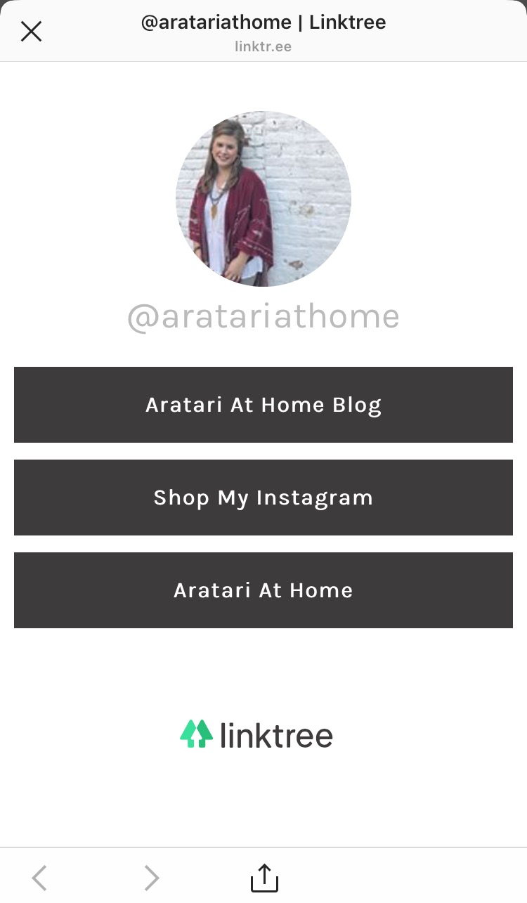 Shop my Instagram