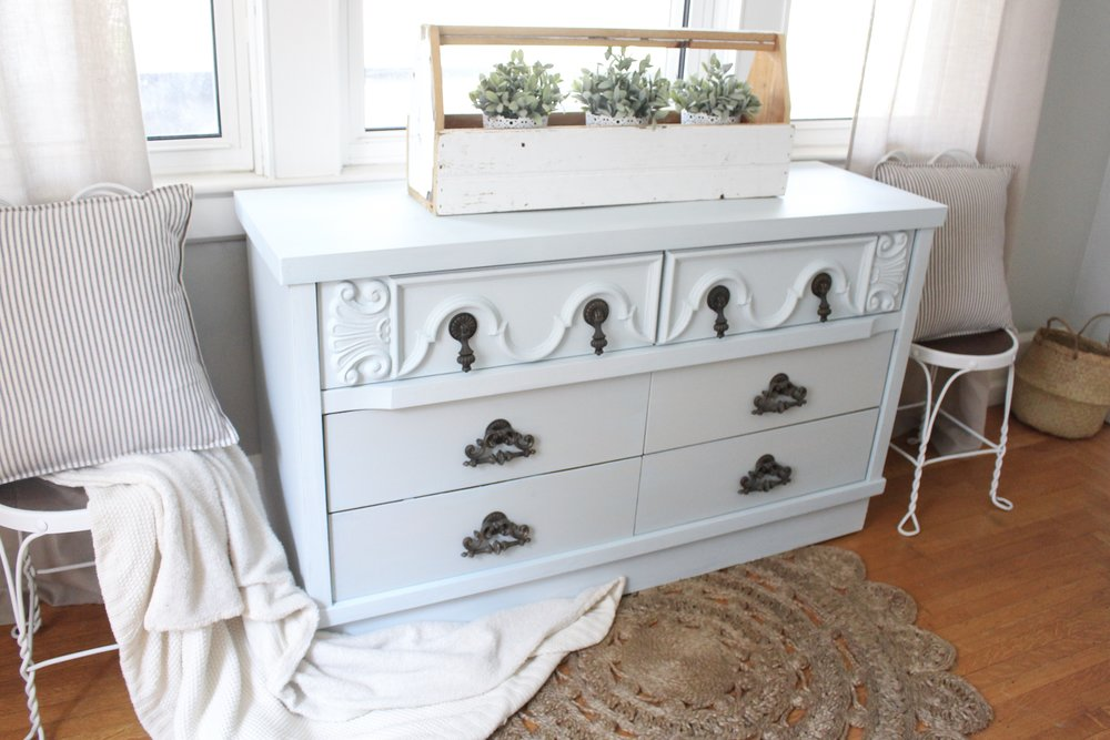Painted Dresser Makeover