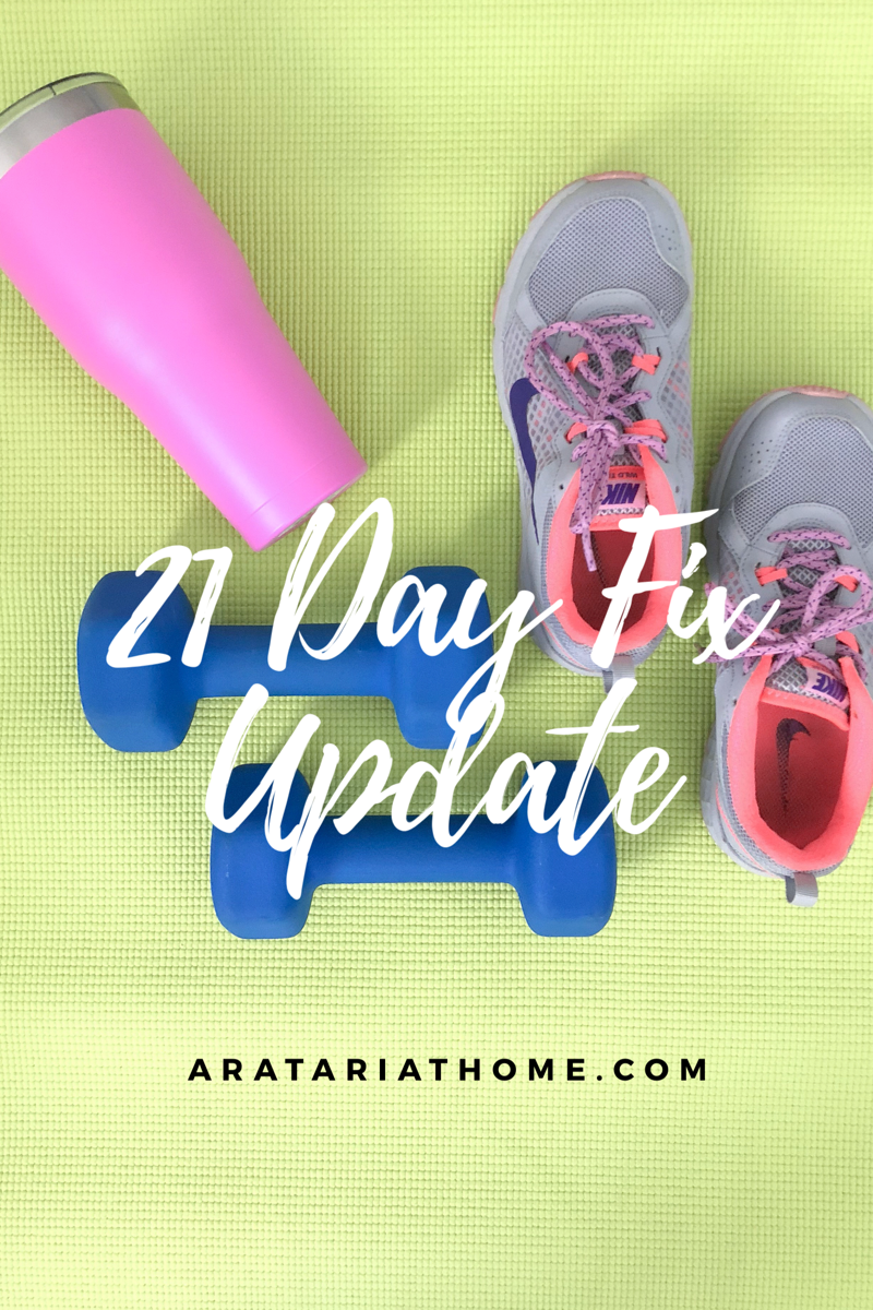 21 Day Fix Update