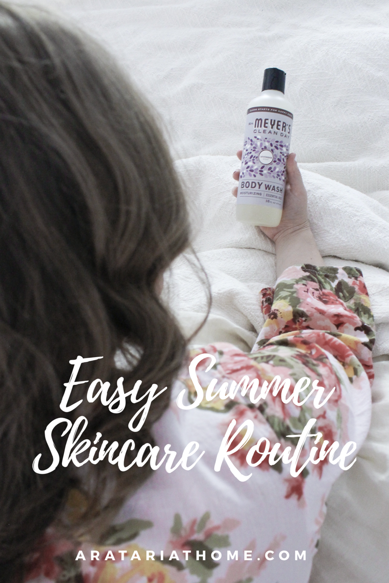 Easy Summer Skincare Routine