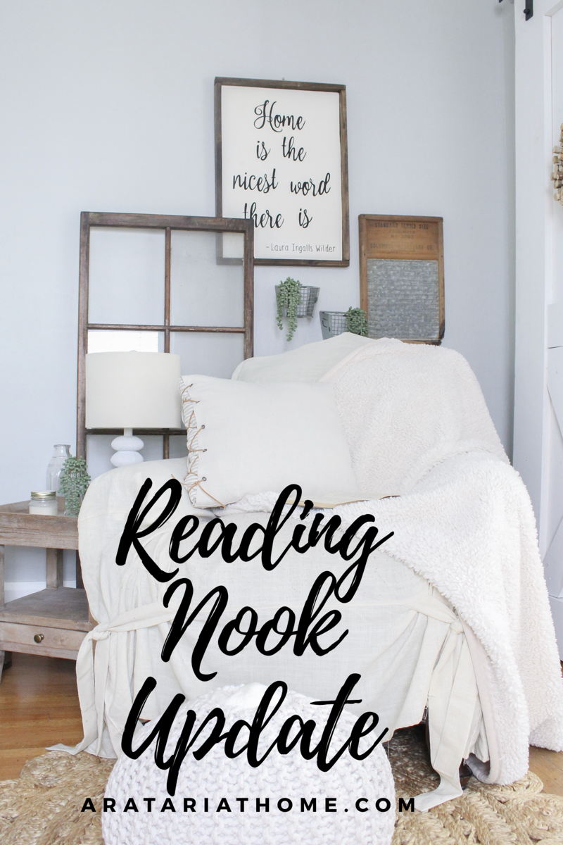 Reading Nook Update