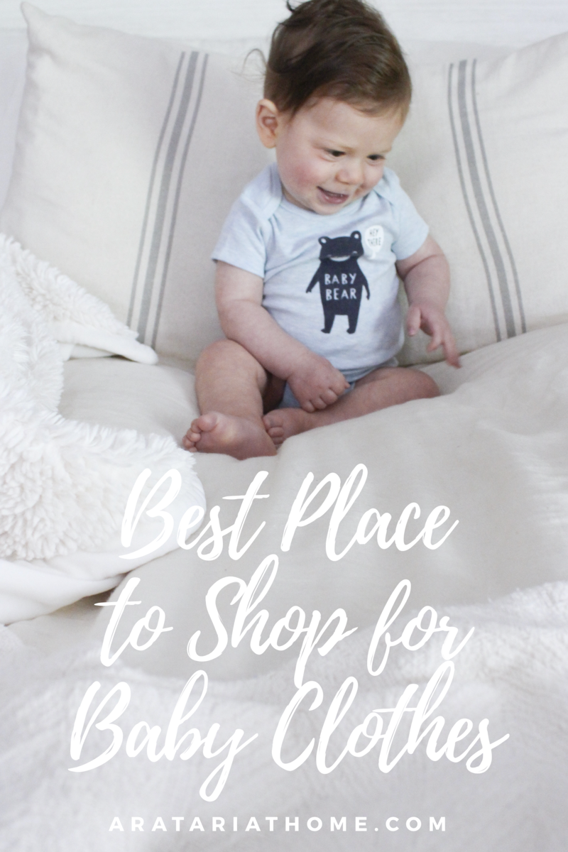 Best Place to Shop for Baby Clothes