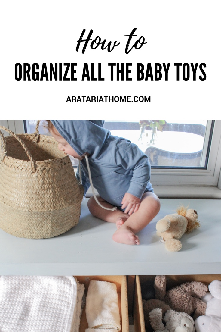How to Organize All the Baby Toys