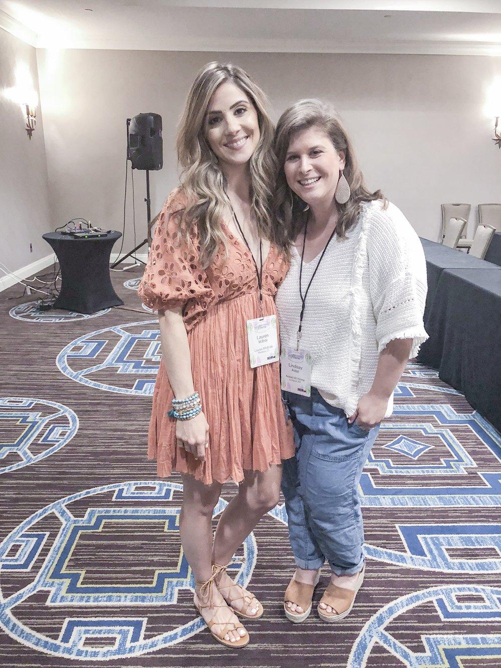 Lauren McBride and I