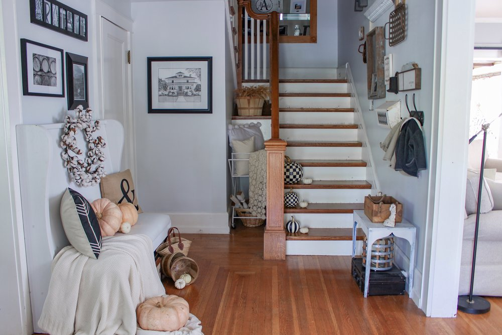 Entry way for Fall