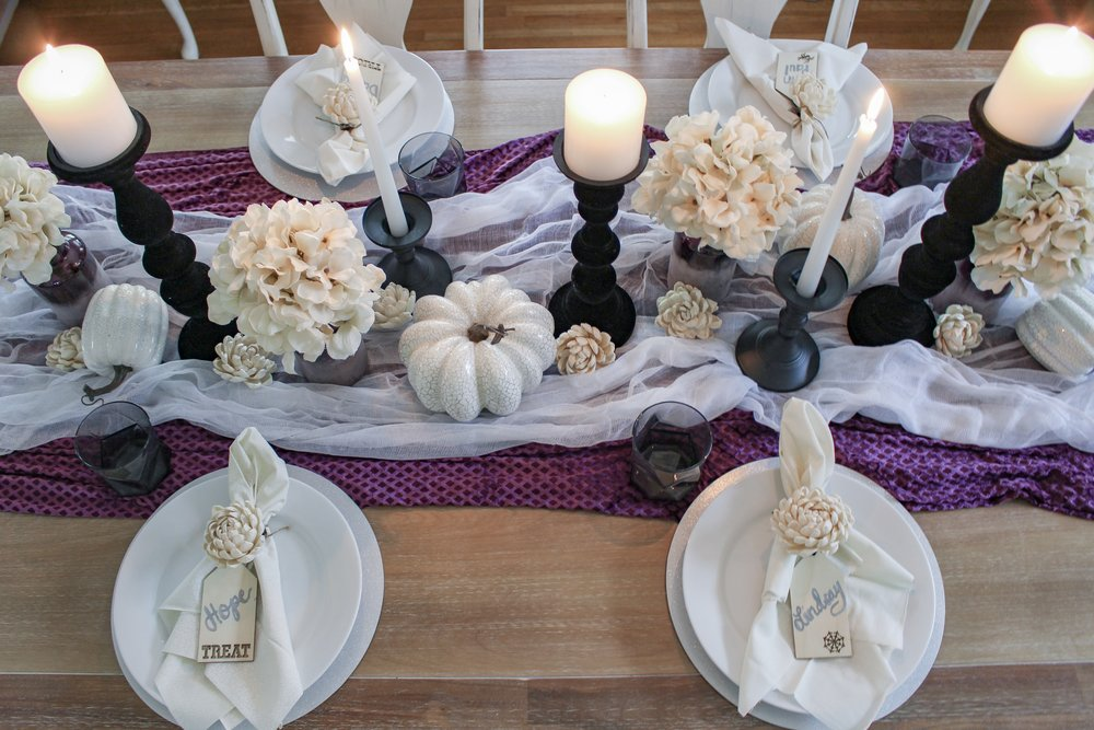 Mysterious tablescape