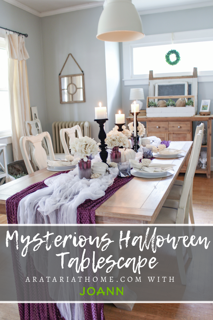 Mysterious Halloween Tablescape
