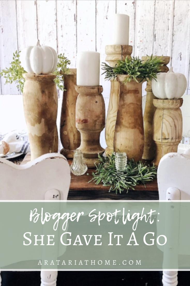 Blogger Spotlight: She Gave It A Go