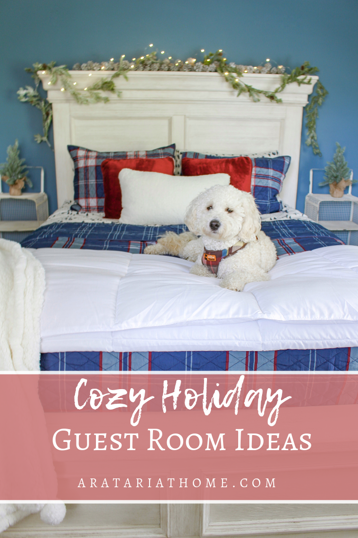 Cozy Holiday Guest Room Ideas