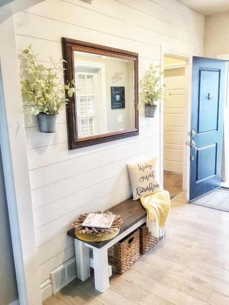 Citygirl Meets Farmboy entryway