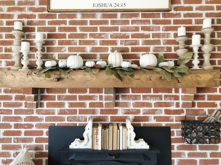 Little Nest of 4 fireplace