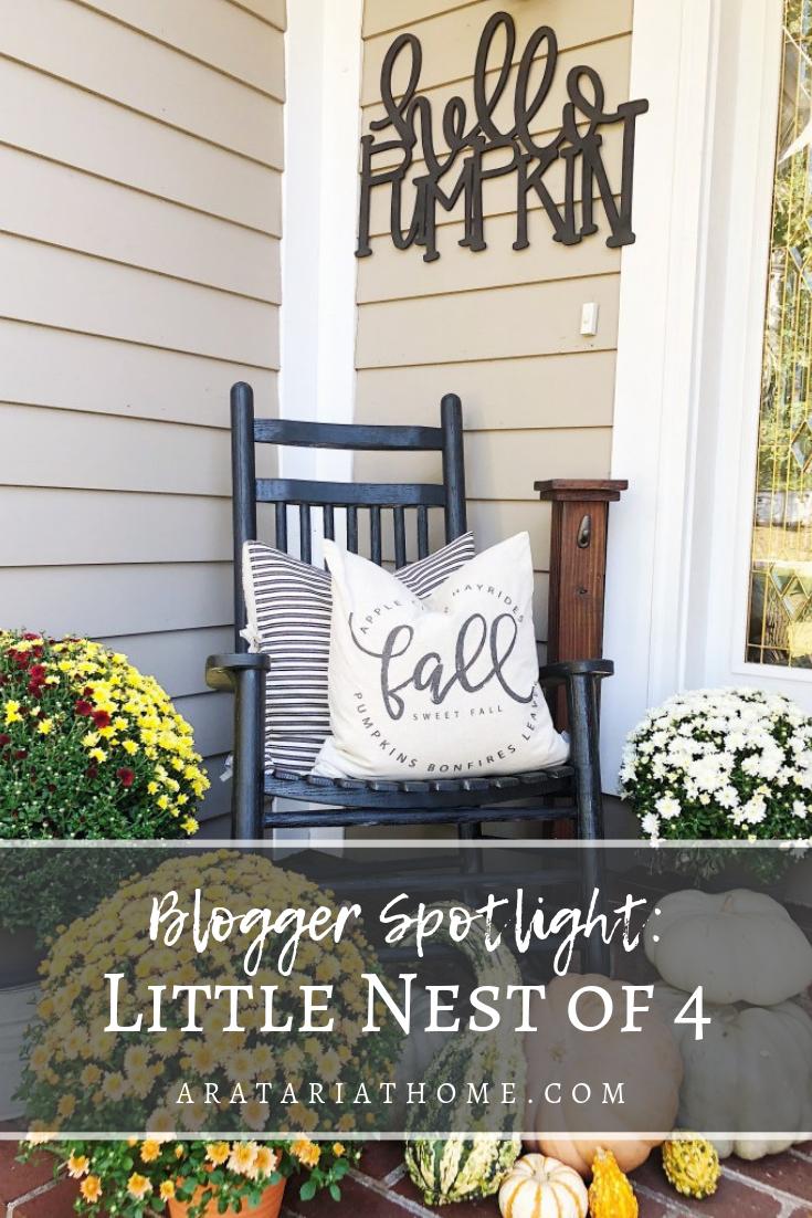 Blogger Spotlight with Little Nest of 4