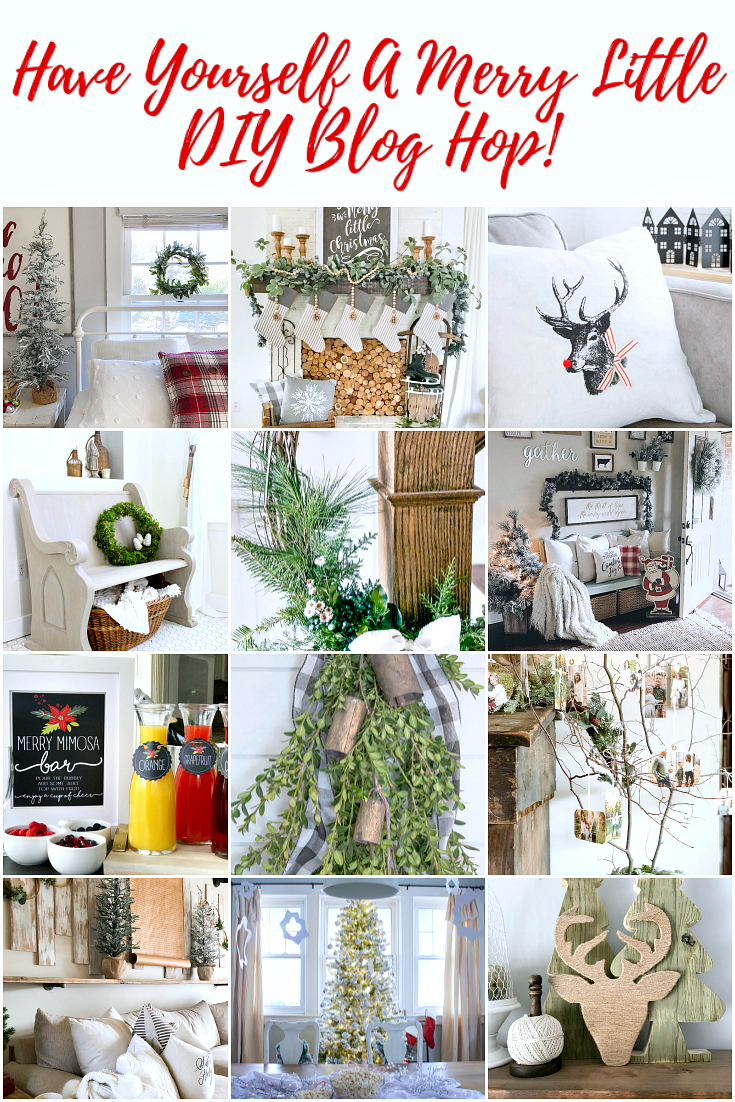 Have Yourself a Merry Little DIY Blog Hop
