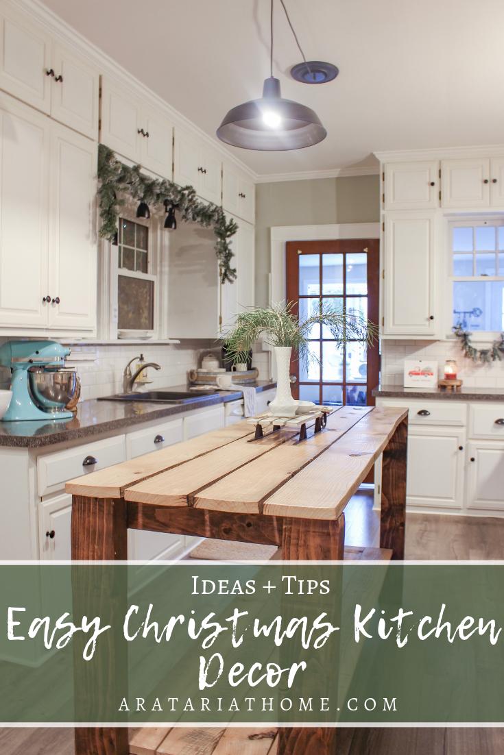 Easy Christmas Kitchen Decor
