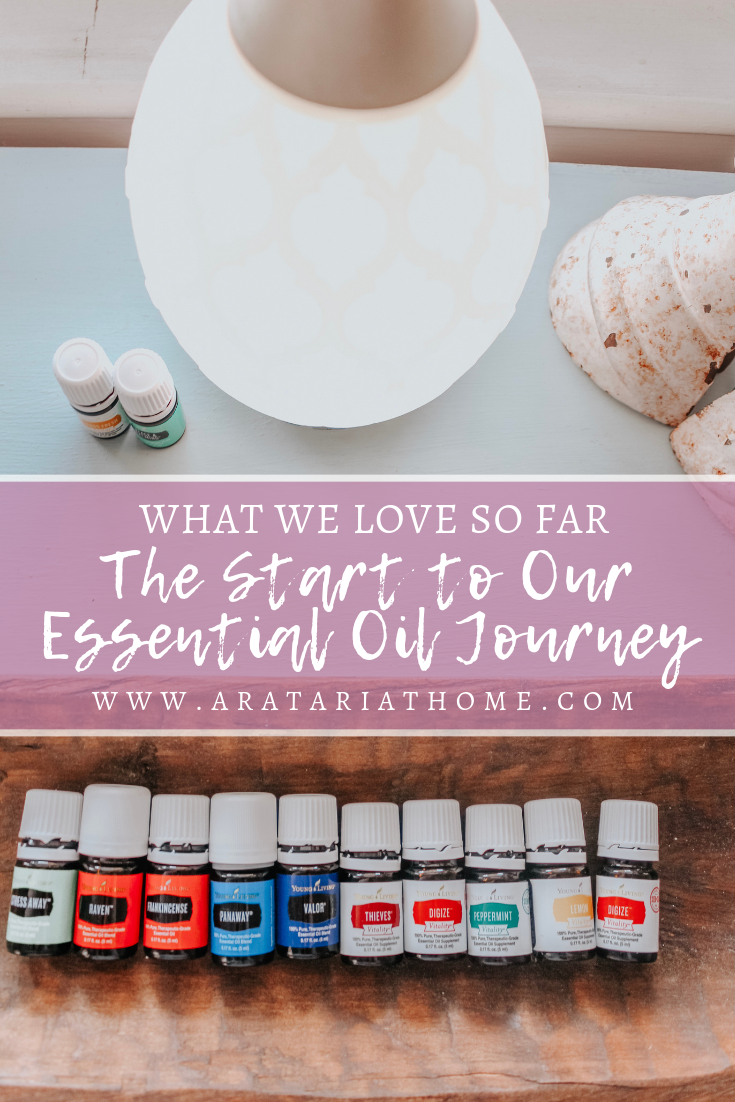 The Start to Our Essential Oils Journey