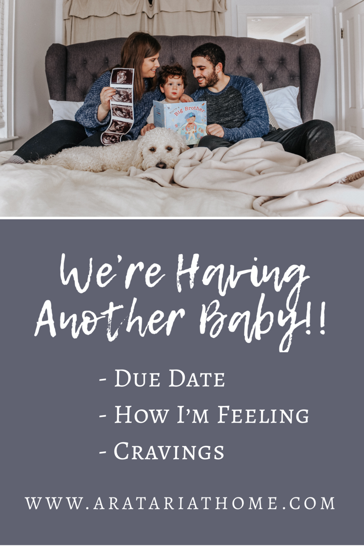 We are having another baby