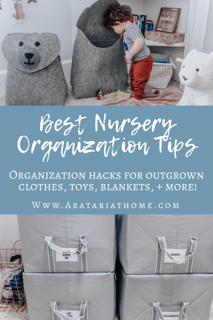 Best Nursery Organization Tips
