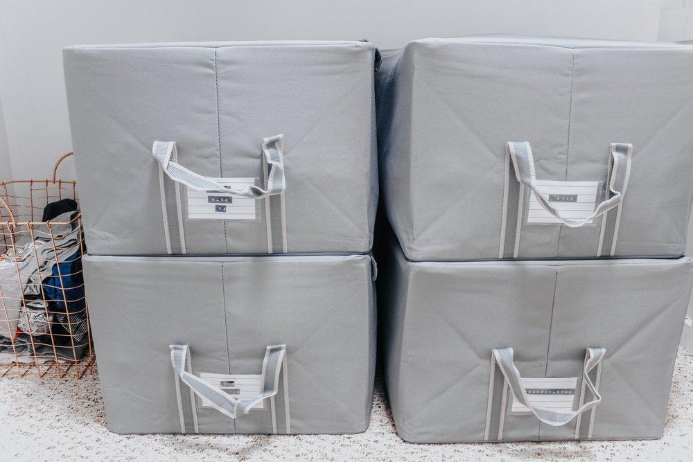 Nursery organization boxes
