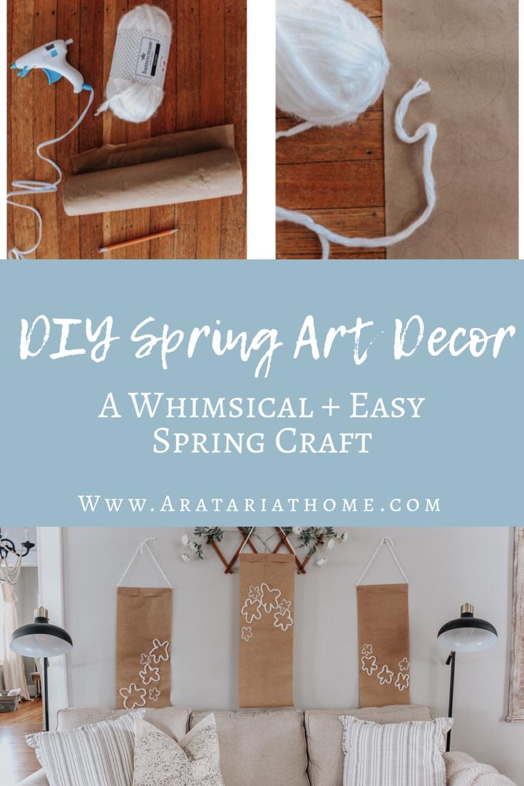 DIY Spring Art Decor