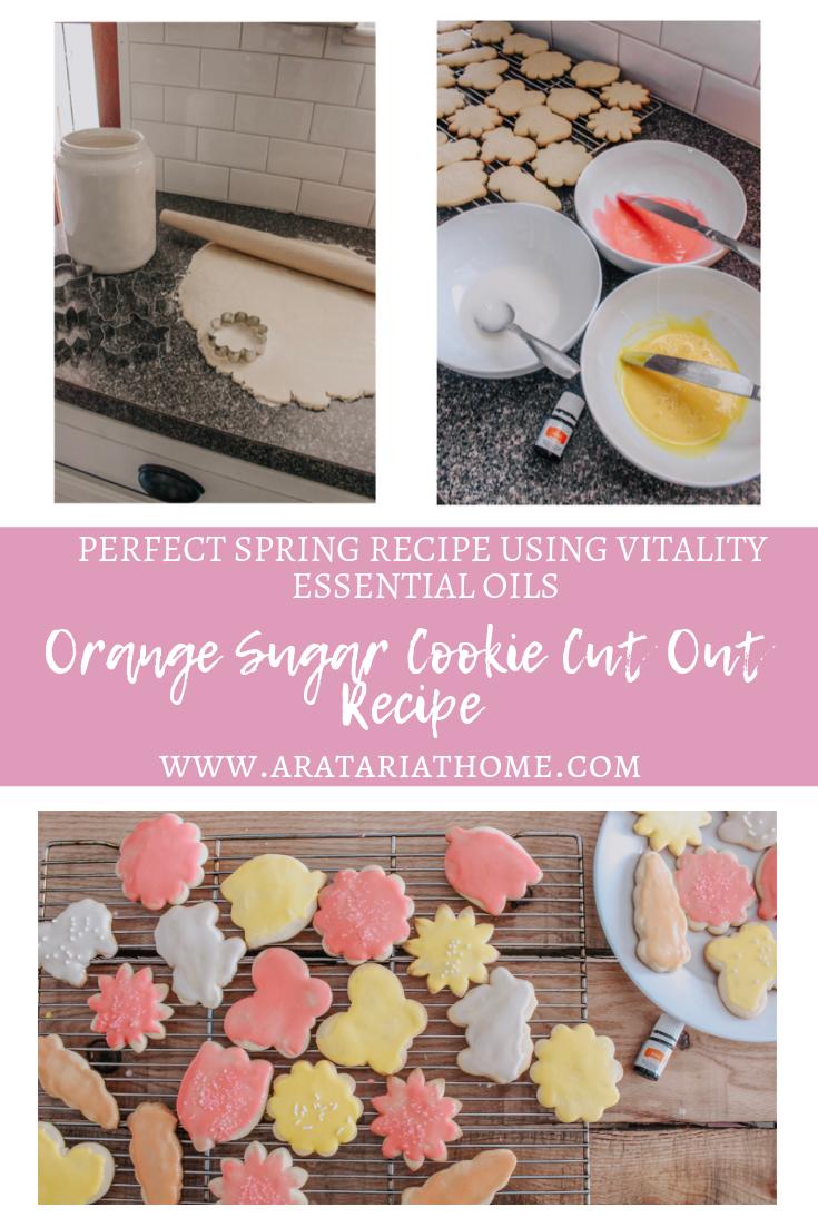 Orange Sugar Cookie Cut Out Recipe