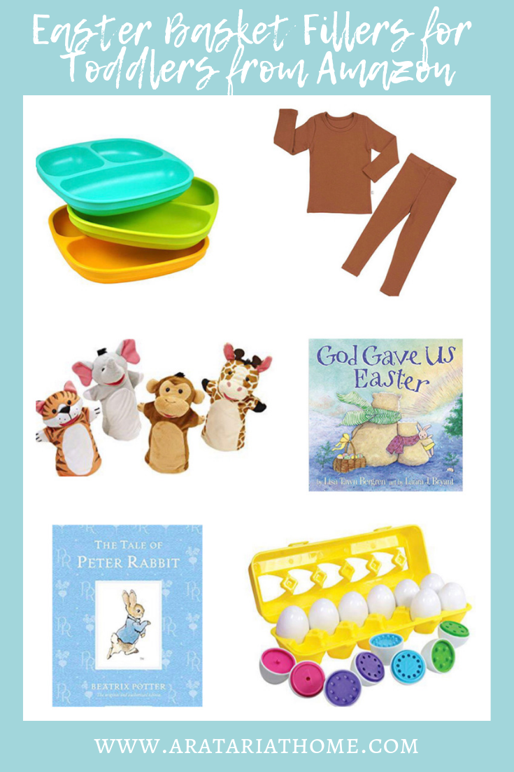 Easter Basket Fillers for Toddlers from Amazon