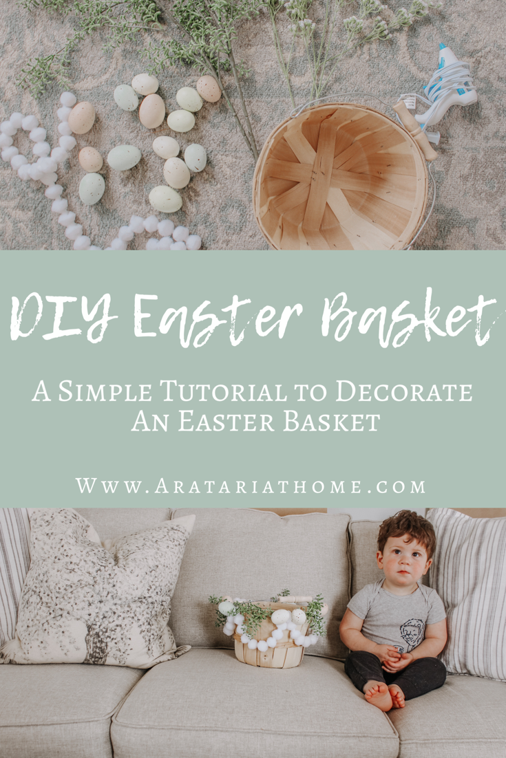 DIY Easter Basket Tutorial