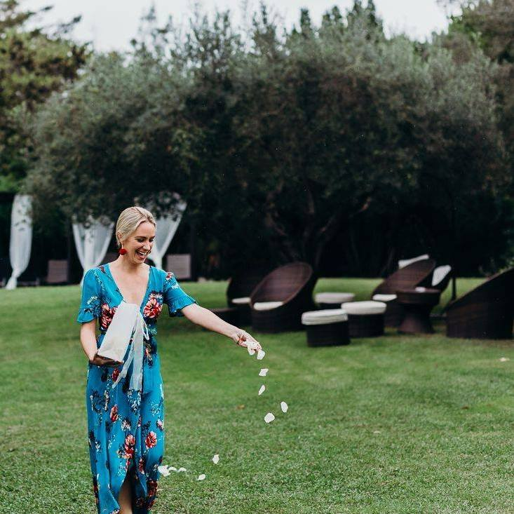 Adding floral beauty to this Barcelona wedding!