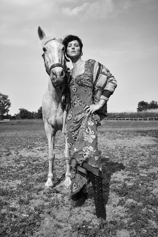 Glamour Magazine - Wild, Wild Country