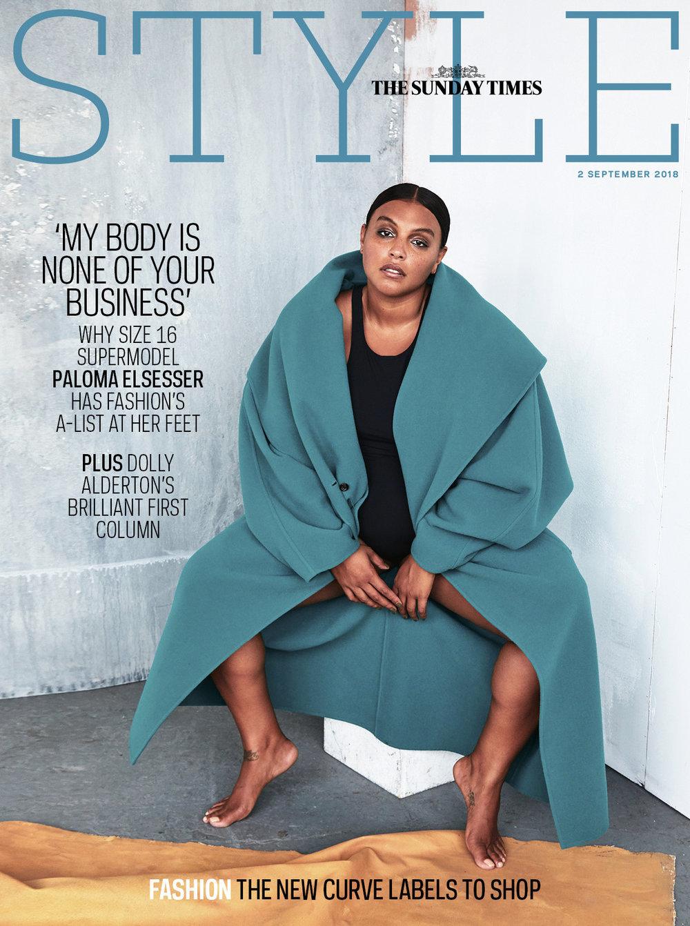 The Sunday Times Style Magazine - Paloma Elsesser