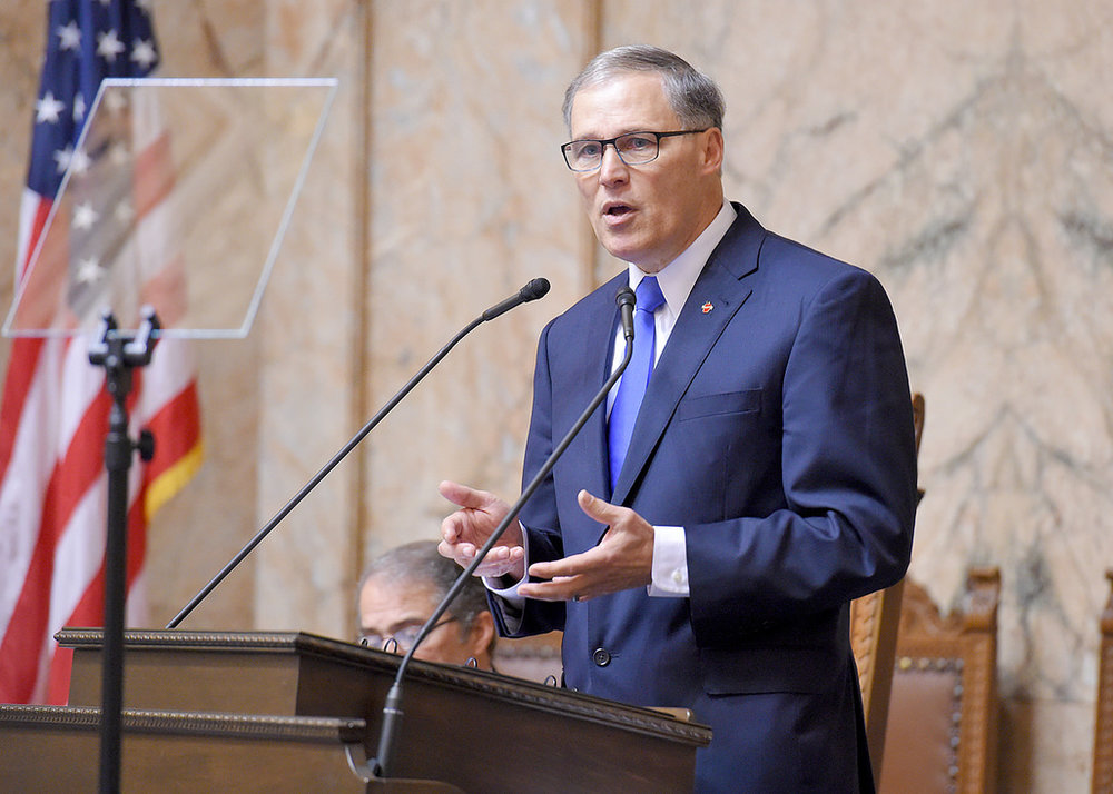 Washington State Governor Jay Inslee announced the results at a press conference after the study was released to the WA Joint Transportation Committee.