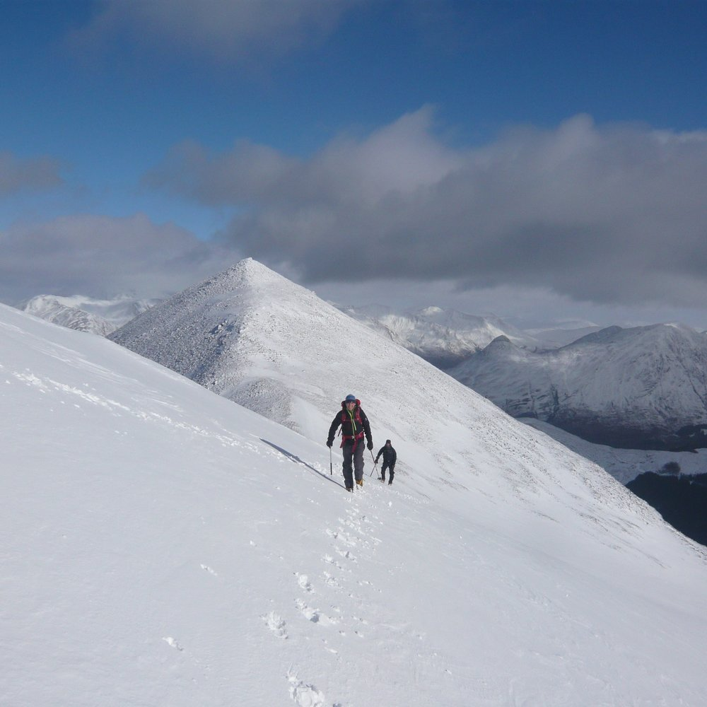 Ballachulish horseshoe, Glencoe, Winter 2015