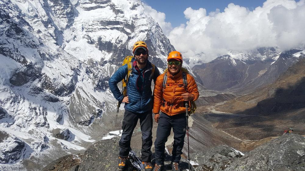 High on Mera Peak, Nepal