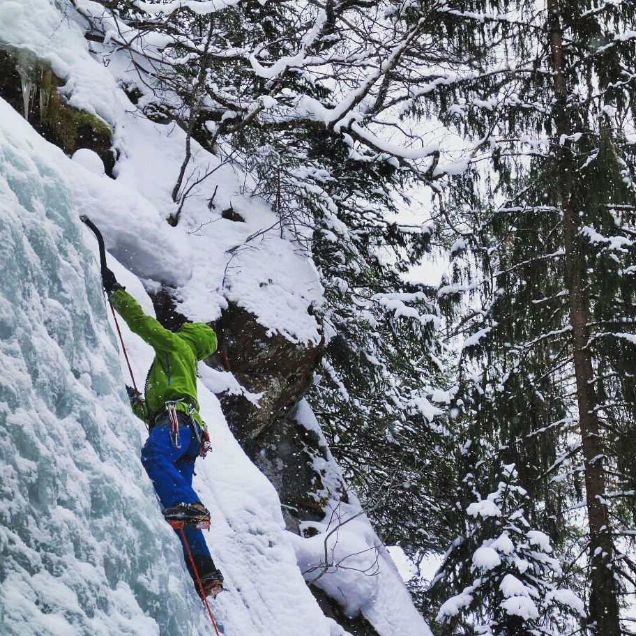 February was dominated by Scottish winter work. Thankfully after a terrible winter season in 2017; 2018 was stellar! Loads of great days out with folk mainly mountaineering. Mid month I worked in Norway for Peak Mountaineering and this was also the start of van woes. - Climbing ice in Rjukan, Norway