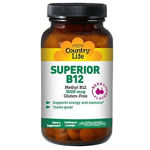 Vitamin B-12 - Should be a component of your diet if you're doing plant based eating but if you fall short with this vitamin. A supplement such as this can help.