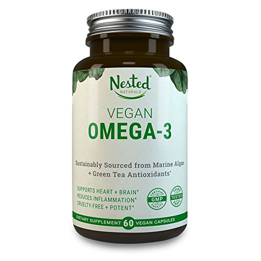 Vegan Omega 3 - Although fish is not an option anymore, you can still get your omega 3 vitamins through Algal oil supplements such as this one. I also use this fruit spread that has chia seeds which are full of omega 3 as well.