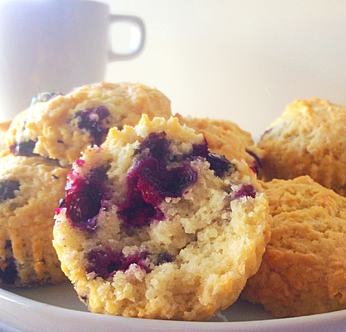 Vegan blueberry muffins, so easy to make and they taste great every time.