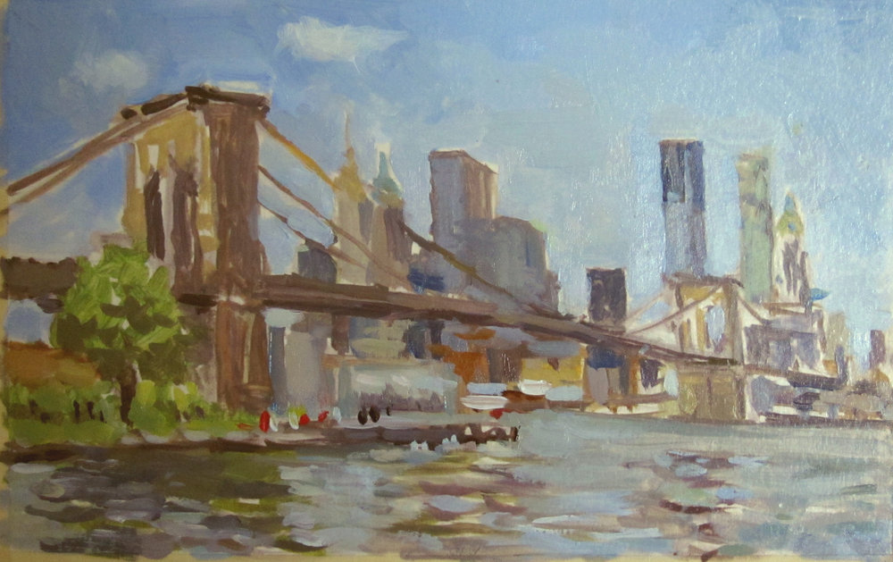 Brooklyn Bridge (sketch)