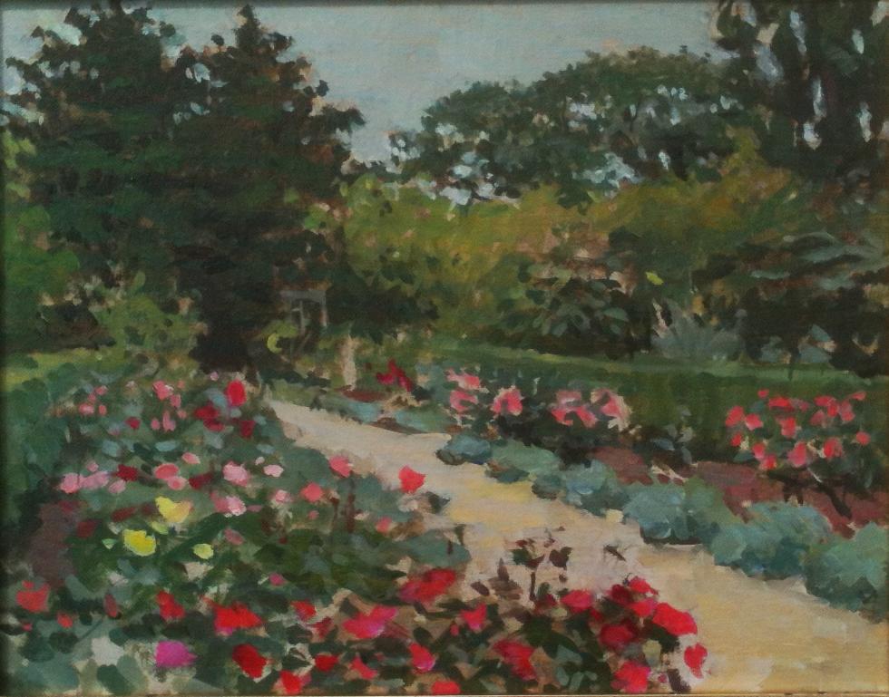 Rose Garden. NY