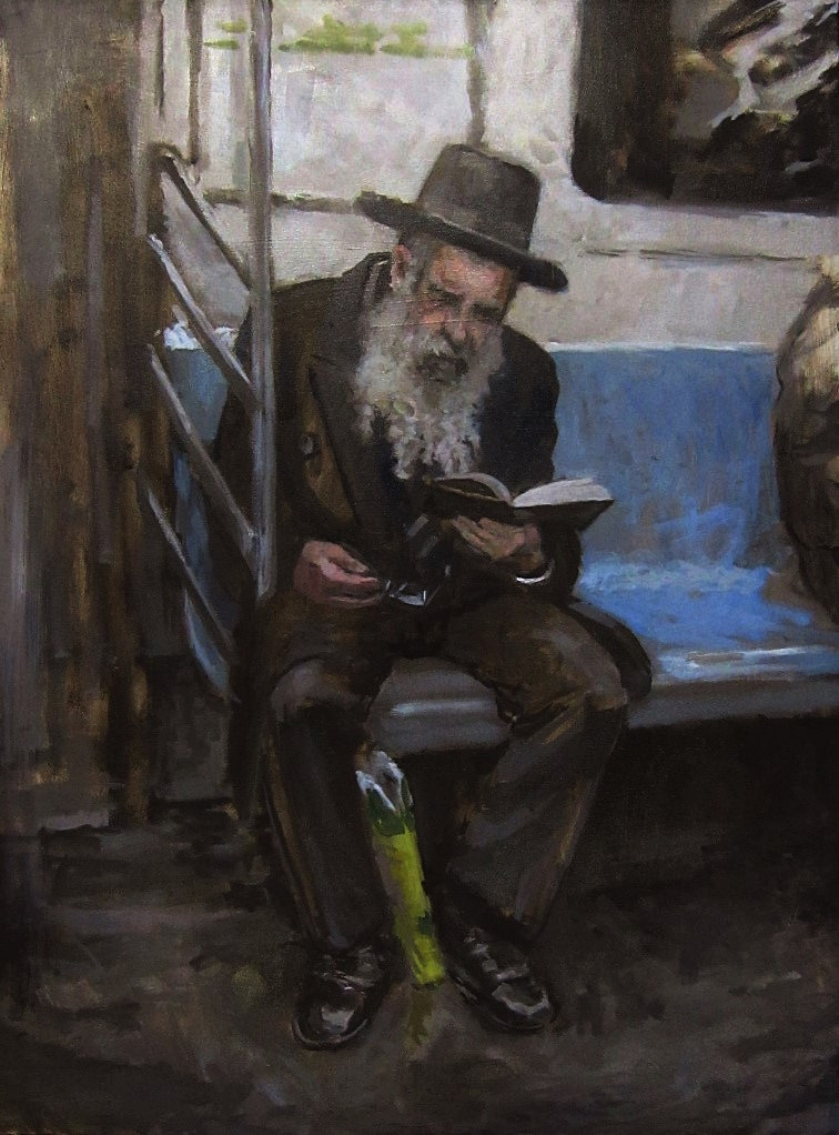 Jew on Subway