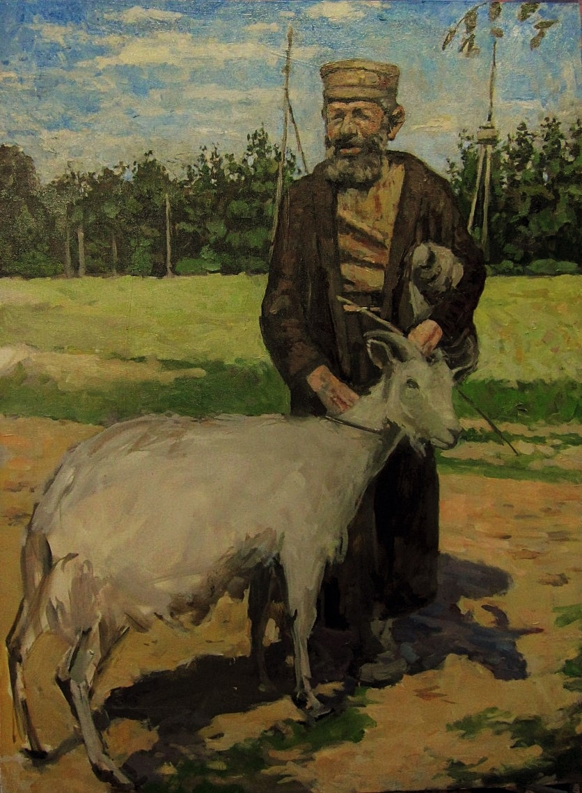 Jew with Goat