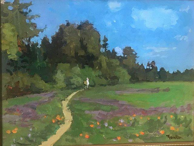 Santa Cruz. Painted years ago, just retouched. #boristyomkin #landscapeart #landscapeartist #landscape_lovers #landscapepainting #impressionism #californiaart #californianature #californialandscape #santacruz #santacruzart