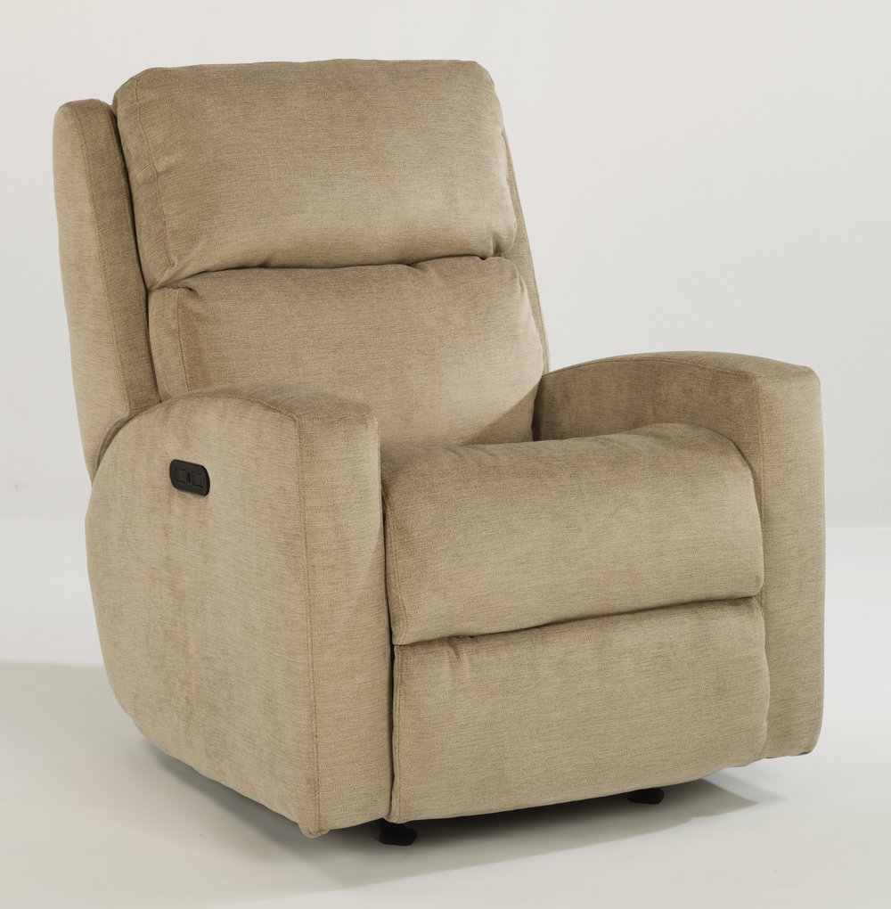 Catalina - By FlexseelAvailable in Leather and FabricAdjustable Power Headrest Optional