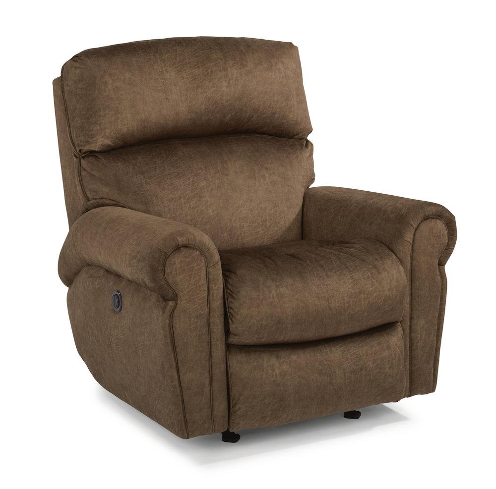 Langston - By FlexsteelFabric OnlyAdjustable Power Headrest Optional