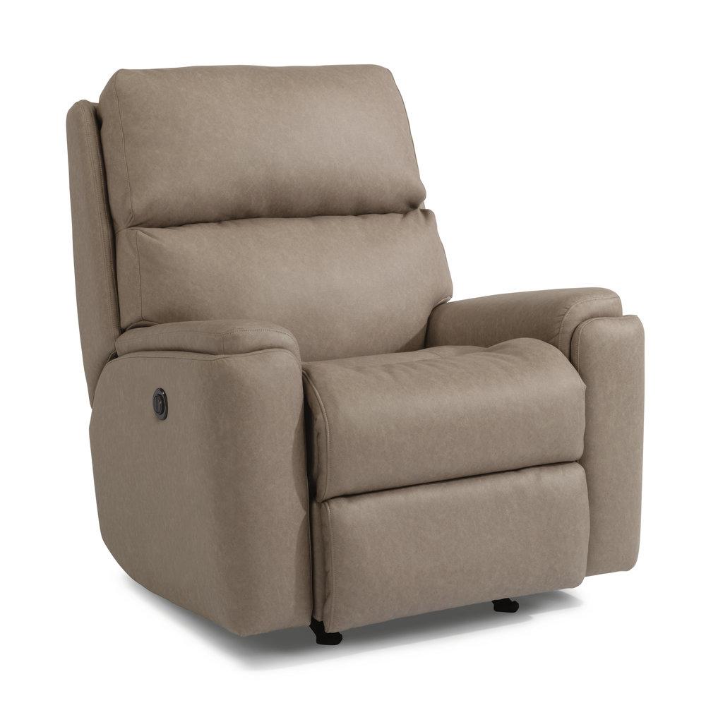 Rio - By FlexsteelFabric OnlyAdjustable Headrest Optional