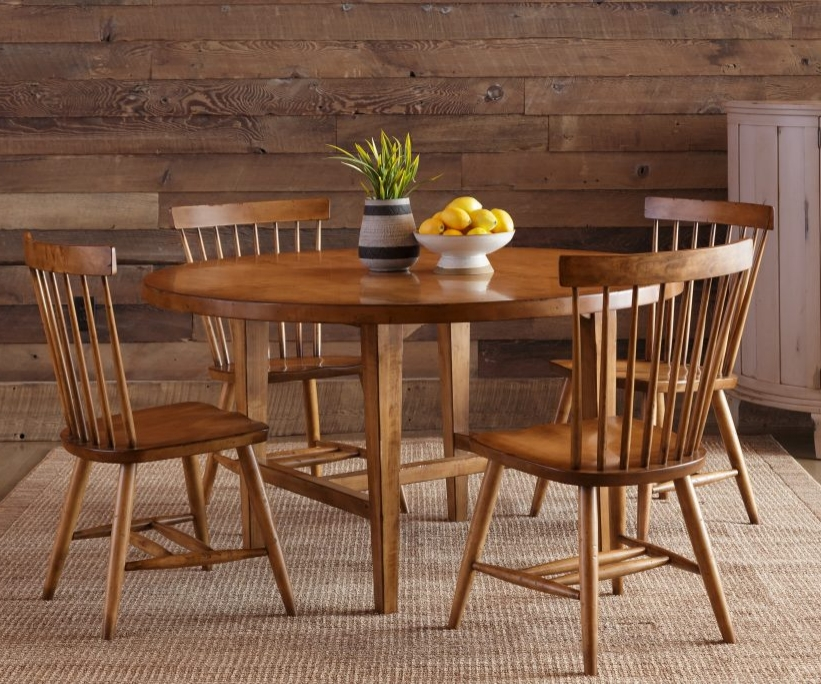 Wheaton Round Table  Zimmerman Chair