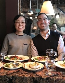 04/01/2018: Jeremy visits the University of Minnesota and friend  Dr. Ling Li .