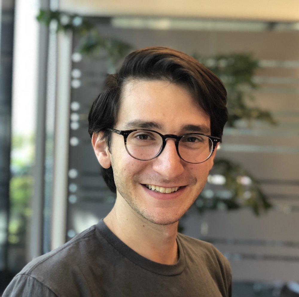 Evan Metsky  UX Researcher Education: Carnegie Mellon University, University of Michigan